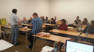 First aid workshop pre študentov